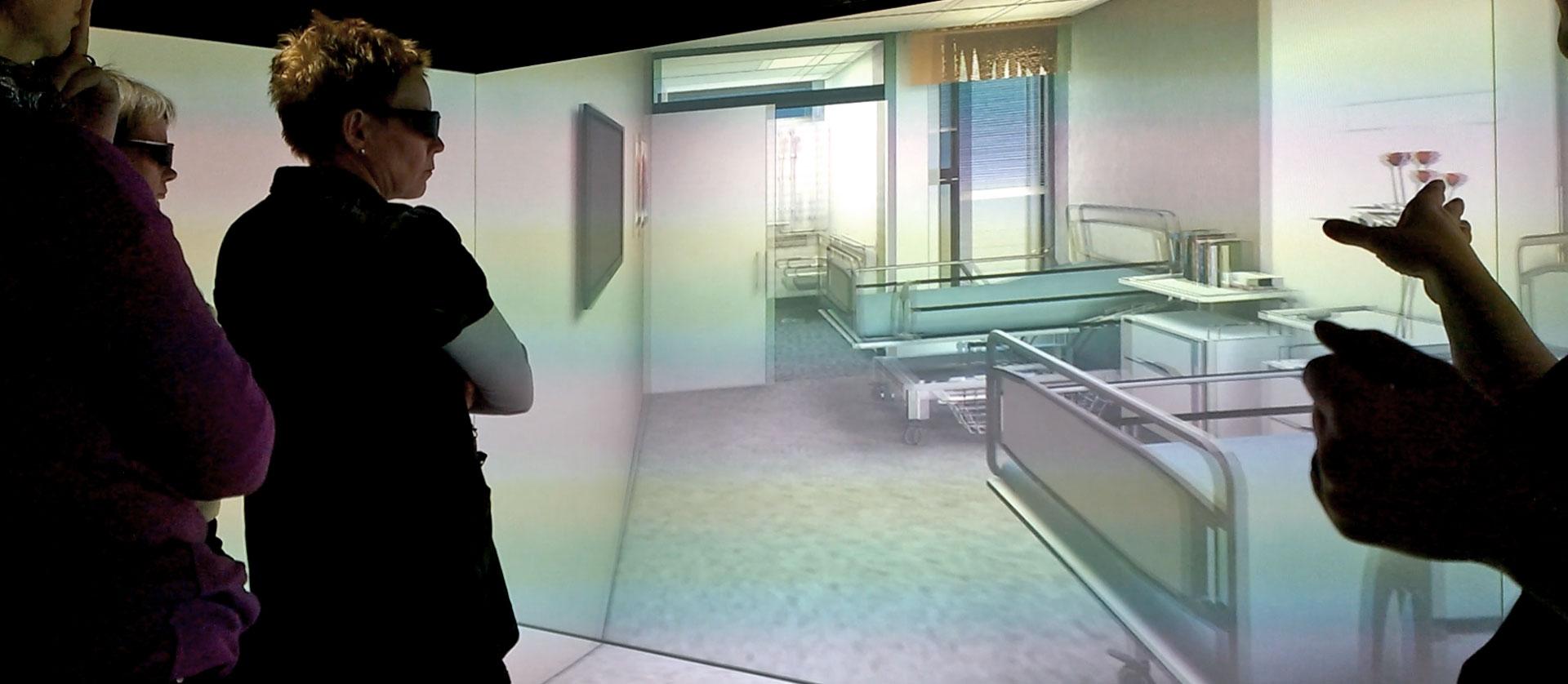 Interaktiivinen VALO-virtuaalisessio käynnissä.