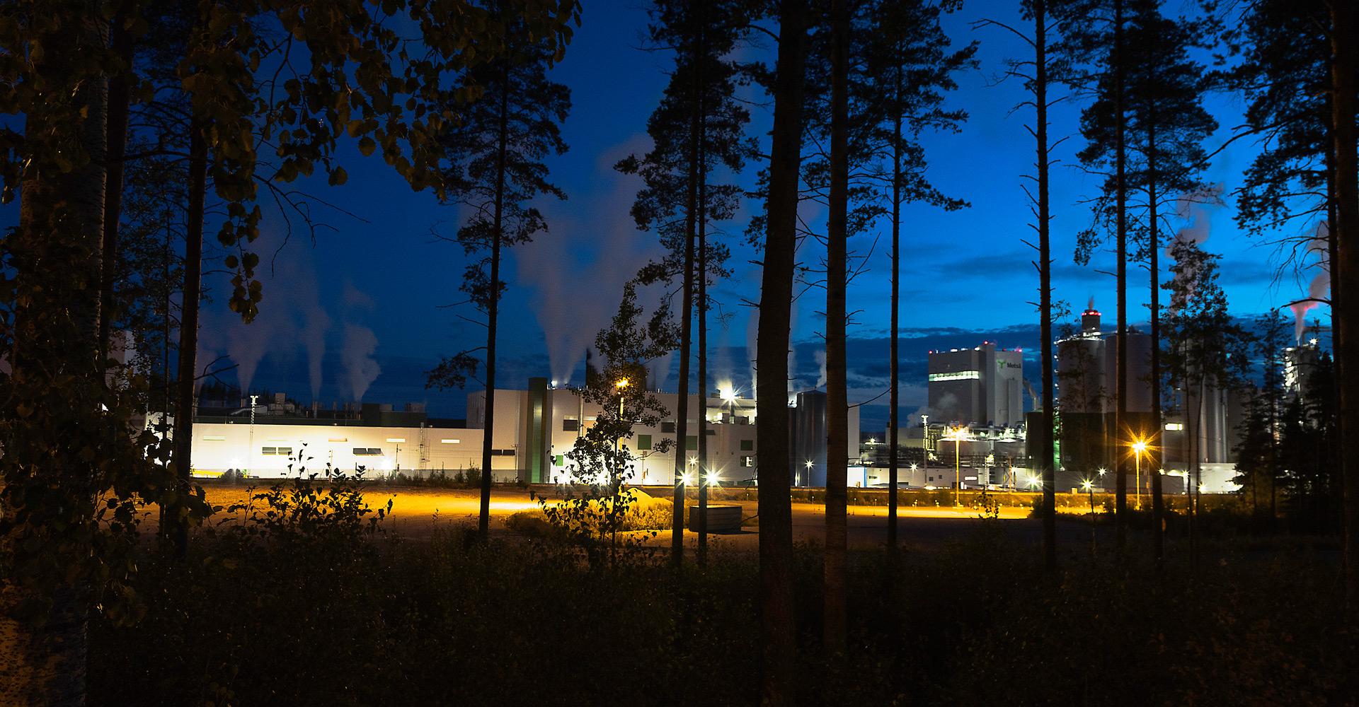 Biotuotetehdas, ulkonäkymä