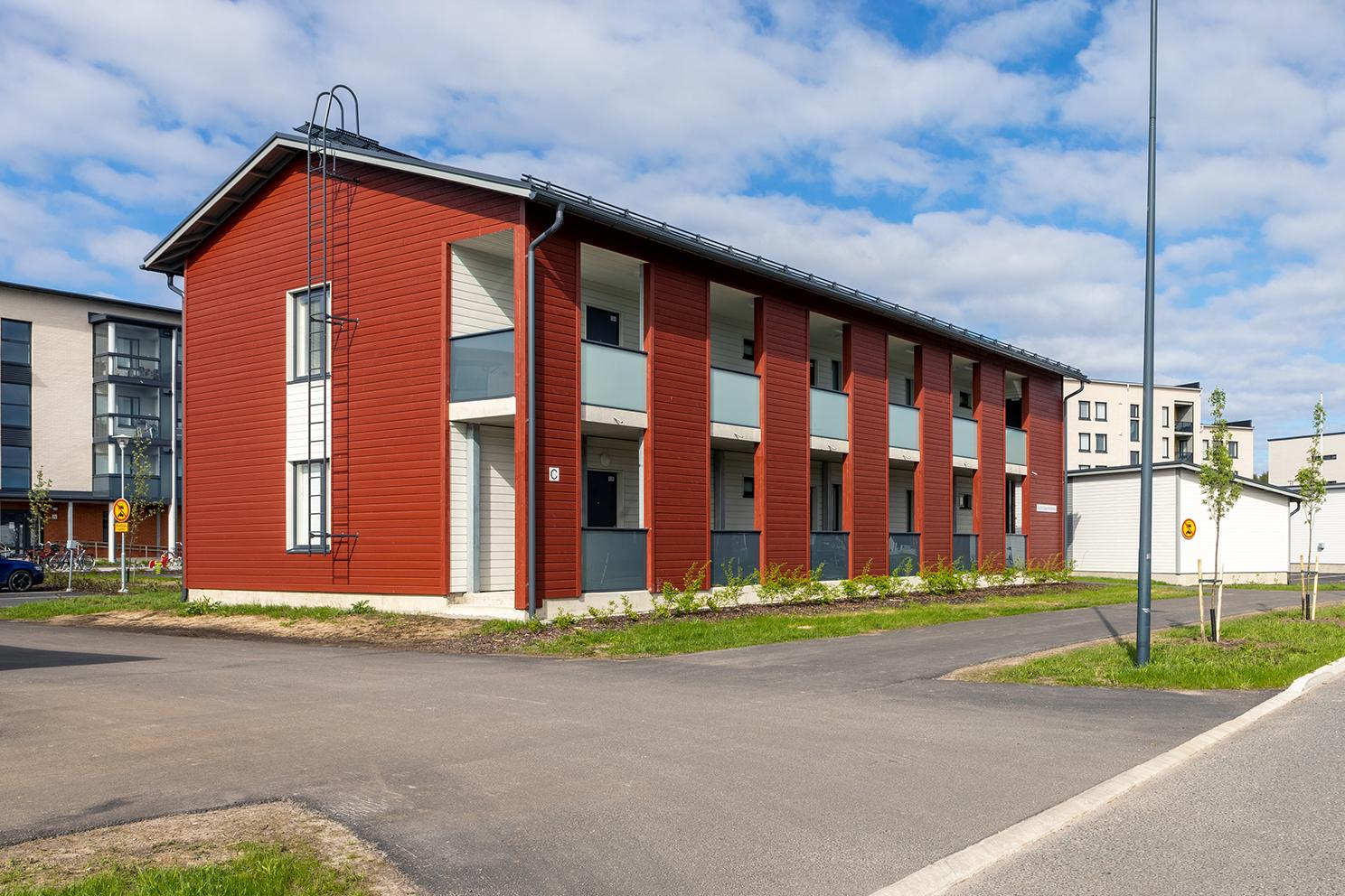 As Oy Oulun Ritahongan punainen luhtitalo